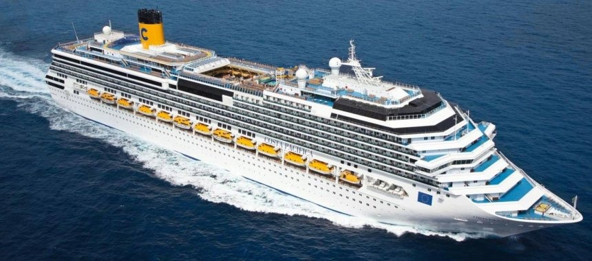 New cruise ship Costa Diadema