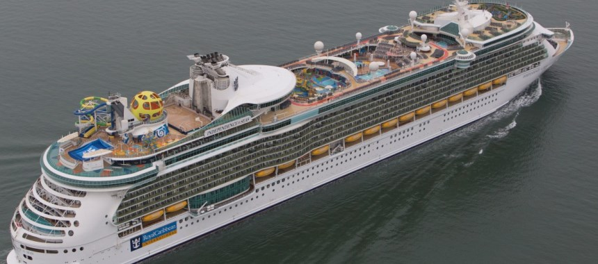 Independence of the Seas arrived today at her new home in Southampton